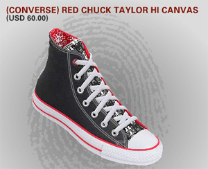 make mine red converse